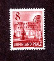 Colonies Françaises Rhéno Palatin  N°33A N* TB  Cote 70 Euros !!! - France (former Colonies & Protectorates)