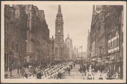 The Black Watch On The Royal Mile, Edinburgh, C.1910s - Valentine's Postcard - Midlothian/ Edinburgh