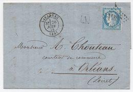 Lavardac 1874 + Boite Urbaine A (Lot Et Garonne) Superbe Lettre - Postmark Collection (Covers)