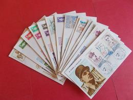 SAINT PIERRE ET MIQUELON  1 Lot D'enveloppes 1er Jours De L' Année 1990 - Stamps