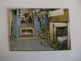 Postcard Postal Palestine Bethlehem Grotto Of The Nativity - Palestine