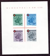 Colonies Françaises Rhéno Palatin  Bloc N°1 Neuf TB  Cote 170 Euros !!! - France (ex-colonies & Protectorats)
