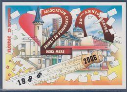 = Floirac 25 Septembre 2006, Association Cartophile De L'Entre Deux Mers, 20ème Anniversaire - Sammlerbörsen & Sammlerausstellungen