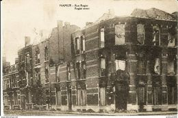 NAMUR - Ruines 14-18 - Rue Rogier - N'a Pas Circulé - Namur
