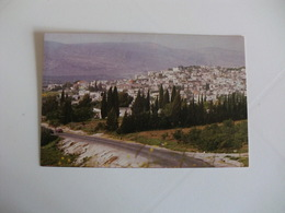 Postcard Postal Palestine Bethlehem General View Of The City - Palestine