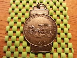 Medaille  / Medal - 4e Gen V.d Bosch Wandeltocht 1959   Walking / Marche Pour L'Association   - The Netherlands - Netherland