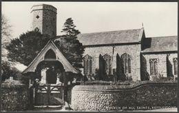Church Of All Saints, Kettlestone, Norfolk, C.1950 - Jarrold RP Postcard - England