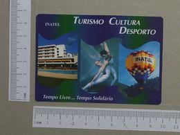 PORTUGAL   1997 - CALENDARIO DE BOLSO - INATEL  -  2 SCANS  - (Nº20683) - Tamaño Pequeño : 1991-00