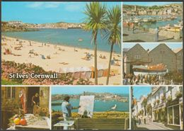 Multiview, St Ives, Cornwall, C.1980 - Murray King Postcard - St.Ives