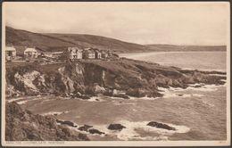 High Tide, Coombes Gate, Mortehoe, Devon, C.1930 - Johnstone Postcard - England
