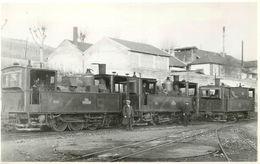 TOD 1929 -la Côte Saint André- Loco N°3;N°7;N°1 Pingueley.  (ancien Retirage Photo Format Carte Ancienne) - Trains