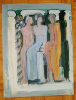 Peter A.M. Van Oorschot - Geen Titel - 1991 - Acrylic Resins