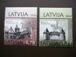 Europa 2017. Castles # Latvia Lettland Lettonie # 2017 MNH # Mi. 1011/2 - Lettonie