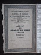 Ateliers Et Chantiers Du HAVRE  Duschesne Bossiere Augustin Normand - Navigation