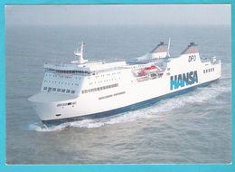 Germany, HANSA Ferry MECKLENBURG - Polonia