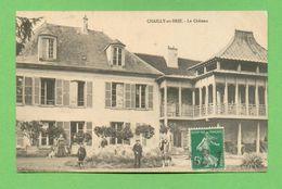 CPA FRANCE 77  ~  CHAILLY-en-BRIE  ~  Le Château  ( 1913 )  2 Scans  Animée - France
