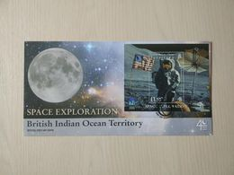 British Indian Ocean Territory 2009. Space Exploration. Year Of Astronomy. Miniature Sheet FDC - British Indian Ocean Territory (BIOT)