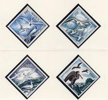 MONACO / Superbe Série 4 Valeurs Dentelées MNH De 1955 Cote + De 600 Euros Vente 50.00 - Albatrosse & Sturmvögel