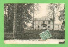 CPA FRANCE 77  ~  CROUY-sur-OURCQ  ~  Parc Et Propriété De Gèsvres Le Duc  ( L'Hoste 1921 )  2 Scans - France