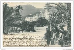 OSPEDALETTI - PASSEGGIATA E VILLE 1904 VIAGGIATA FP - Imperia