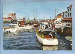Les Sables-d'Olonne (85) L'Embarcadère Et Le Port 2 Scans Pilote Garnier Vedettes Sablaises Promenades En Mer - Sables D'Olonne