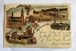 Gruss Aus Marienthal  4051 Schneider - Ansichtskarten