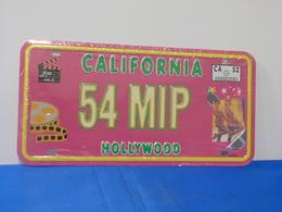 "Plaque D'immatriculation ""CALIFORNIE"" - Advertising (Porcelain) Signs"