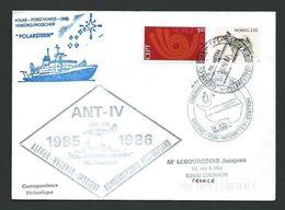TT 81 -  Expédition Antarctique Allemande 1985-1986 - Timbres