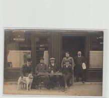 "1 Carte Photo à Identifier ?? "" Restaurant Maison Jolly "" Cachet Depart Seine - A Identifier"