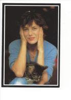 19345 - Jane Birkin Et Son Chat Par Melloui Sygma (format 10X15) - Acteurs