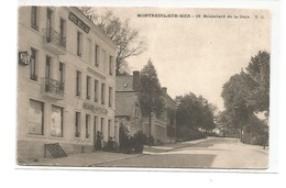 MONTREUIL SUR MER BOULEVARD DE LA GARE CAFE RESTAURANT HOTEL BELLE VUE - Montreuil
