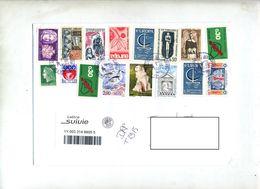 Lettre Suivie Poste 22497A Sur Bel Affranchissement - Marcophilie (Lettres)