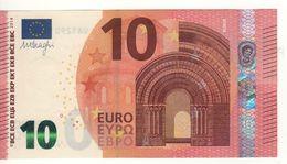 "10 EURO  ""UA"" Firma DRAGHI    U 011 B1    Serie  UA1290163026  /  FDS - UNC - EURO"