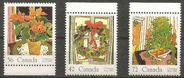 Canada  - 1987 Christmas  MNH **   Sc 1148-50 - 1952-.... Reign Of Elizabeth II