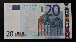 EURO . 20 Euro 2002 Draghi R027 D Estonia - EURO