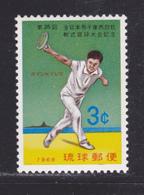 RYU-KYU N°  177 ** MNH Neuf Sans Charnière, TB (D5097) Sports, Championnats De Tennis Du Japon - Ryukyu Islands