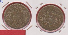 Tunisie / Km 248 / 2 Francs  1941 / TTB - Tunisie