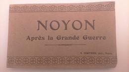 "Carnets De Cartes Postales ""Noyon Après La Grande Guerre"" - Noyon"