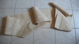 Rouleau Feuille Perforée,partition Pour Orgue Harmonium, Breveté En 1891- Allegro Moderato - Instruments à Clavier