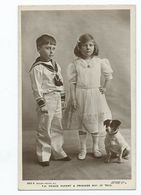 Royal Family  Rp T.h. Prince Rupert And Princess May Of Teck With Dog. Rotary Unused - Case Reali