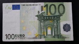 EURO . 100 Euro 2002 Trichet H001 L Finland - 100 Euro