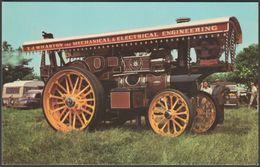 Fowler Showman Engine 'Supreme' At Banbury, C.1970 - Pawsey Postcard - Postcards