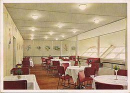 Zeppelin - Dirigeable Hindenburg - Salle à Manger - 1936 - Dirigibili