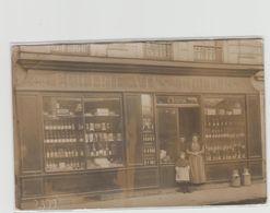 """1 Carte Photo à Identifier ?? """" N°22 épicerie Vins Liqueurs G.Boivin  """" - A Identifier"""