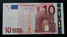 EURO . 10 Euro 2002 Draghi P016 X Germany UNC- (small Crease In Center) - EURO