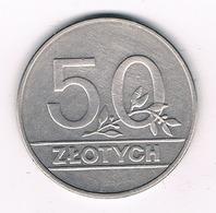 50 ZLOTYCH  1990  POLEN /959G/ - Pologne