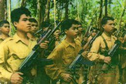 CAMBODGE - Militaires Du Front Uni National Du Kampuchea - Calendriers