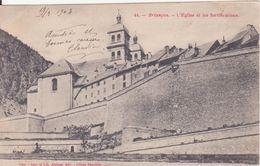 CPA - 44. BRIANCON - L'église Et Les Fortifications - Briancon