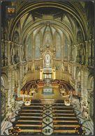 Interior De La Basílica, Montserrat, Catalunya, C.1960s - Monasterio Targeta - Spain