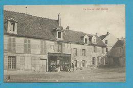 CPA - Commerce Vins-Tabac-Epicerie SAINT-FIACRE 77 - Francia